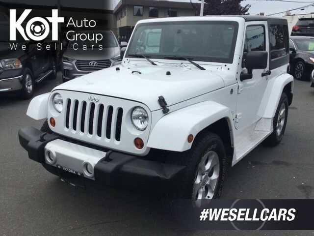 2013 Jeep Wrangler Sahara No Accidents! Kelowna BC