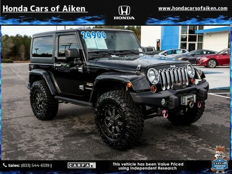 Jeep Wrangler For Sale In Sc >> Used Jeep Wrangler Aiken Sc