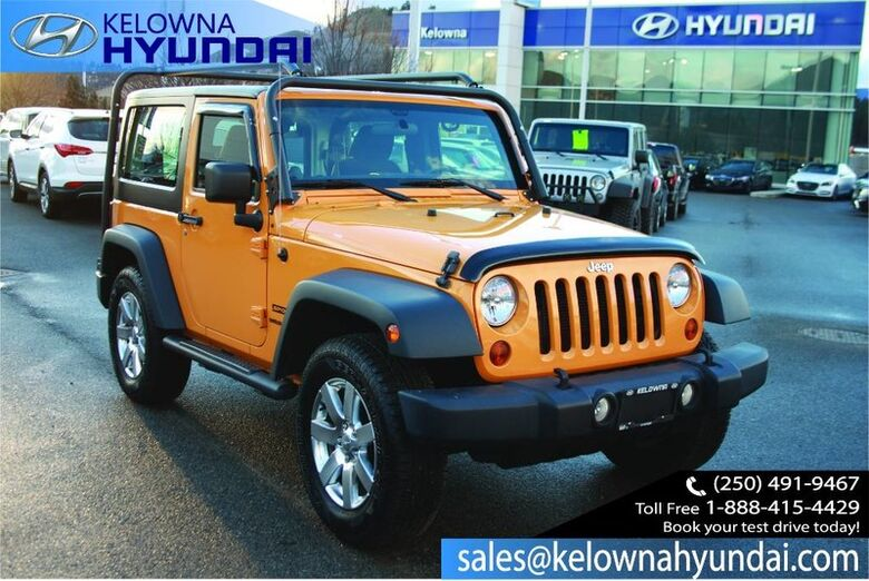 2013 Jeep Wrangler Sport Comes with soft top Kelowna BC