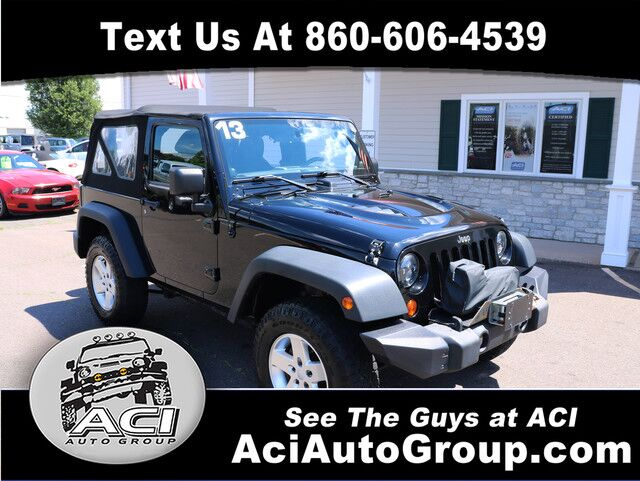 2013 Jeep Wrangler Sport East Windsor CT