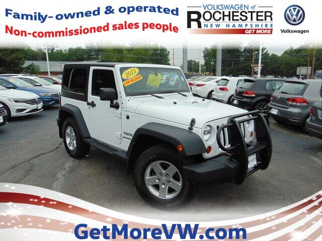 2013 Jeep Wrangler Sport Rochester NH