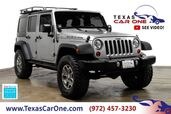 2013 Jeep Wrangler UNLIMITED RUBICON 4WD HARD TOP CONVERTIBLE RUNNING BOARDS ALLOY