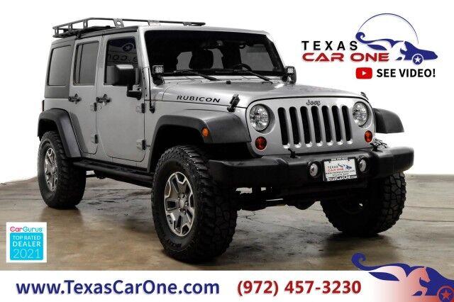 2013 Jeep Wrangler UNLIMITED RUBICON 4WD HARD TOP CONVERTIBLE RUNNING BOARDS ALLOY Carrollton TX