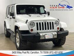 2013_Jeep_Wrangler_UNLIMITED SAHARA 4WD AUTOMATIC HARD TOP CONVERTIBLE NAVIGATION HEATED SEATS_ Carrollton TX