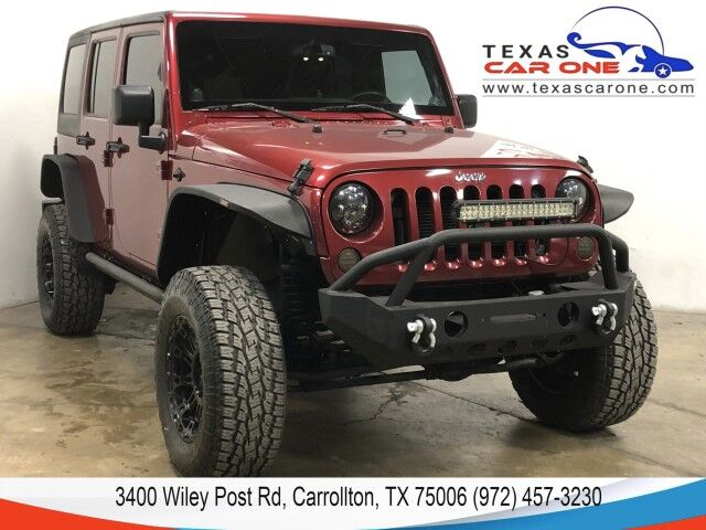 2013 Jeep Wrangler UNLIMITED SPORT 4WD AUTOMATIC HARD TOP CONVERTIBLE ALLOY WHEELS Carrollton TX