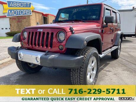 2013 Jeep Wrangler Unlimited 4Dr Sahara 4X4 Hardtop Buffalo NY