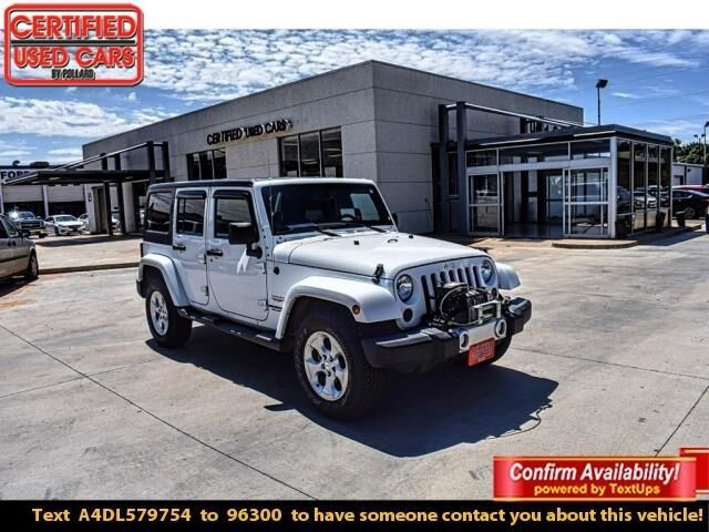 055f7f28 2013 Jeep Wrangler Unlimited 4WD 4DR SAHARA