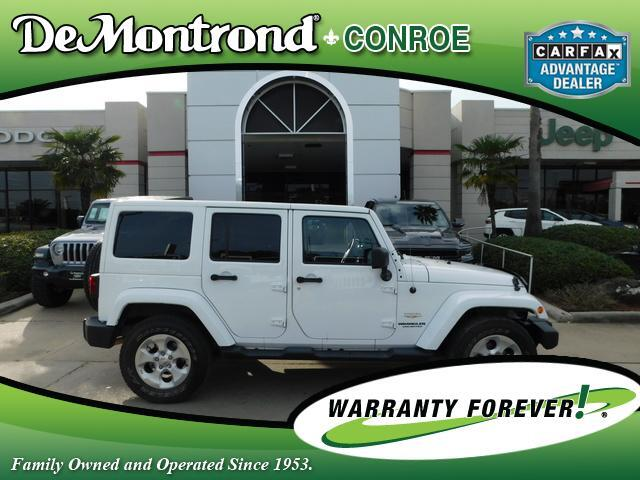 2013 Jeep Wrangler Unlimited 4WD 4dr Sahara Conroe TX
