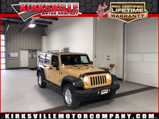 2013 Jeep Wrangler Unlimited 4WD 4dr Sport Kirksville MO