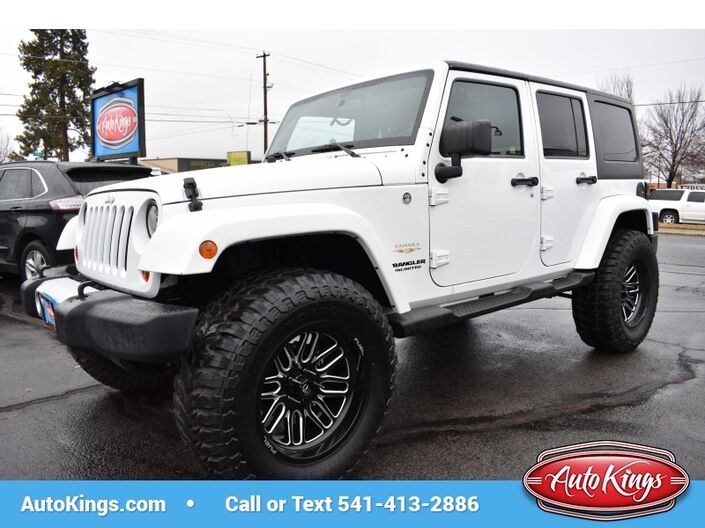 2013 Jeep Wrangler Unlimited 4WD Sahara Bend OR
