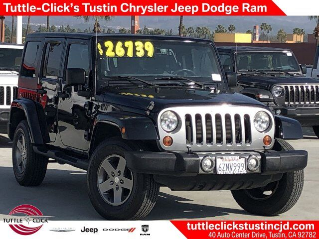2013 Jeep Wrangler Unlimited Freedom Edition Irvine CA