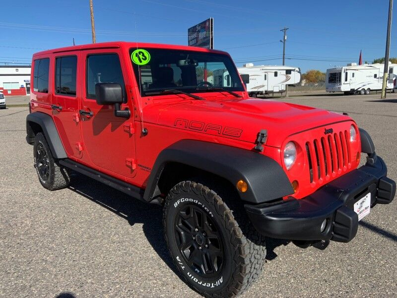 2013 Jeep Wrangler Unlimited Moab Moorhead MN