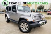 2013 Jeep Wrangler Unlimited NAVIGATION, LEATHER, BLUETOOTH, AND MUCH MORE!!! Sahara