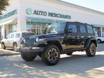 2013 Jeep Wrangler Unlimited Rubicon 4WD 3.6L 6CYL MANUAL, 4WD, NAVIGATION, PREMIUM WHEELS/TIRES,  BLUETOOTH