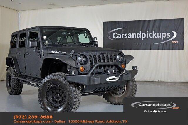 2013 Jeep Wrangler Unlimited Rubicon Dallas TX