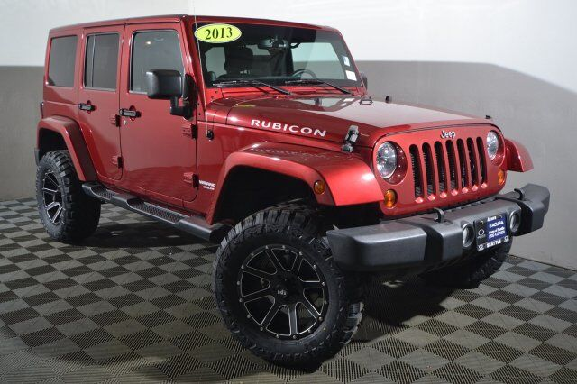2013 Jeep Wrangler Unlimited Rubicon Seattle WA