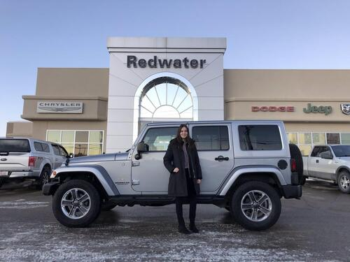 2013_Jeep_Wrangler Unlimited_Sahara 4X4 - 3.6L V6 - Leather - Heated Seats - Max Tow Package - Nav - Remote Start - One Owner_ Redwater AB