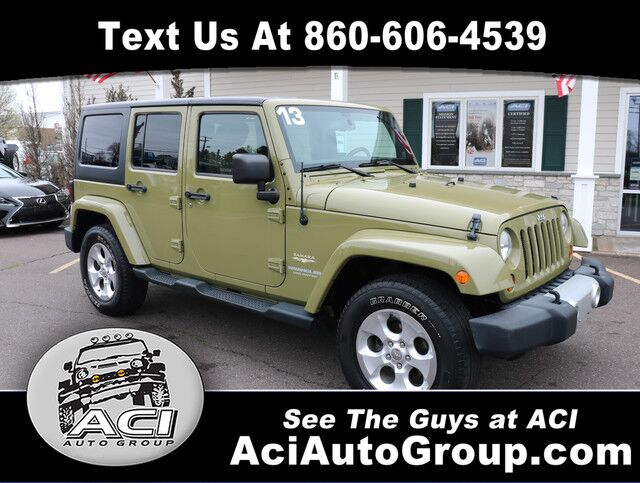 2013 Jeep Wrangler Unlimited Sahara East Windsor CT