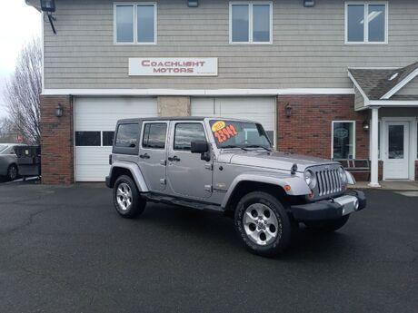 2013 Jeep Wrangler Unlimited Sahara East Windsor CT