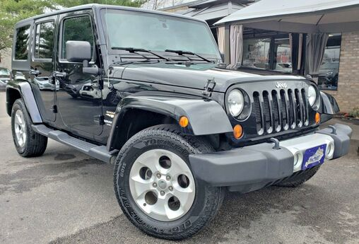 2013 Jeep Wrangler Unlimited Sahara Georgetown KY