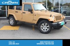 2013_Jeep_Wrangler Unlimited_Sahara **Local Vehicle/4x4**_ Winnipeg MB