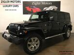 2013 Jeep Wrangler Unlimited Sahara Low miles 1-Owner Clean Carfax Nav NICE!