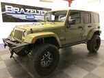 2013 Jeep Wrangler Unlimited Sahara, Nav, Leather, Icon 4 Lift, Tons of Custom Extras, Only 7k Miles