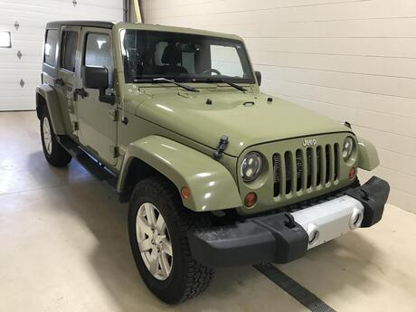 2013 Jeep Wrangler Unlimited Sahara Stevens Point WI