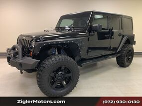 Jeep Wrangler Unlimited Sahara UPGRADES Clean Carfax 2013