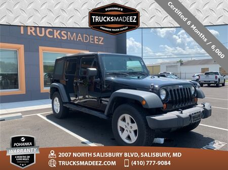 2013_Jeep_Wrangler_Unlimited Sport 4WD | SOFT TOP | AUTOMATIC_ Salisbury MD