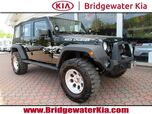 2013 Jeep Wrangler Unlimited Sport 4WD, Connectivity Group, Alpine Premium Audio, Bluetooth Technology, Sunrider Soft Top, 6-Speed Manual Transmission, Lifted Suspension, 17-Inch Alloy Wheels, All Terrain Tires,