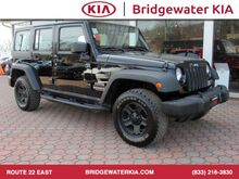 2013_Jeep_Wrangler Unlimited_Sport 4WD, Connectivity Group, Remote Keyless Entry, Leather Wrapped Steering Wheel, In-Dash CD/MP3-Player, 3-Piece Hard-Top, Running Boards, 16-Inch Black Wheels, All Terrain Tires,_ Bridgewater NJ