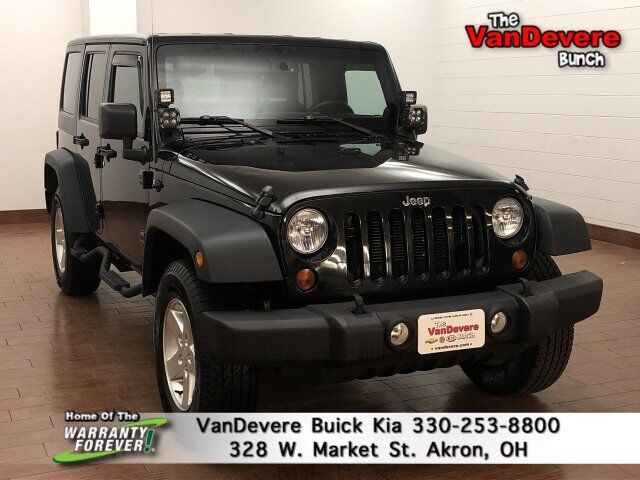 2013 Jeep Wrangler Unlimited Sport Akron OH