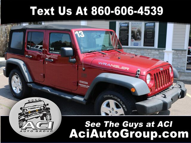2013 Jeep Wrangler Unlimited Sport East Windsor CT
