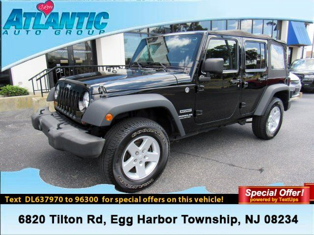 2013 Jeep Wrangler Unlimited Sport Egg Harbor Township NJ