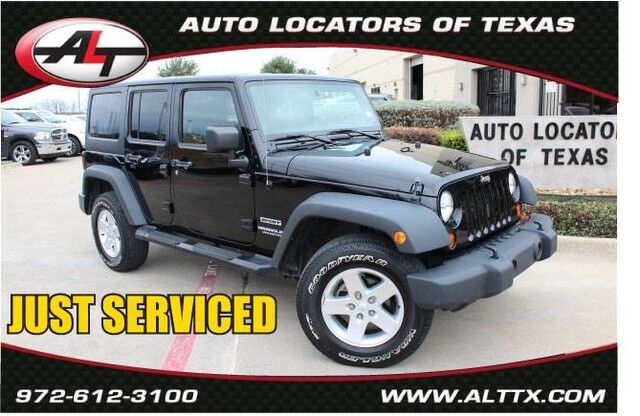 2013 Jeep Wrangler Unlimited Sport Plano TX