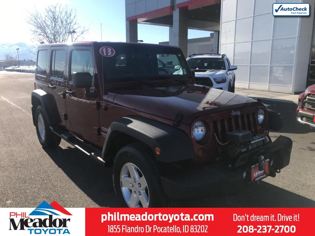 2013 Jeep Wrangler Unlimited Sport Pocatello ID