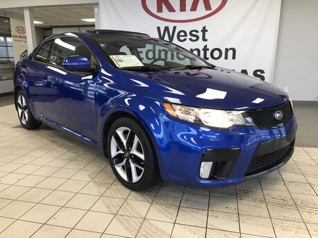 pre owned kia forte koup edmonton ab. Black Bedroom Furniture Sets. Home Design Ideas