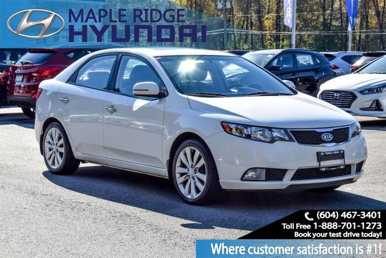 2013 Kia Forte SX, Auto, Leather, Moon Roof, Allow Wheels Maple Ridge BC