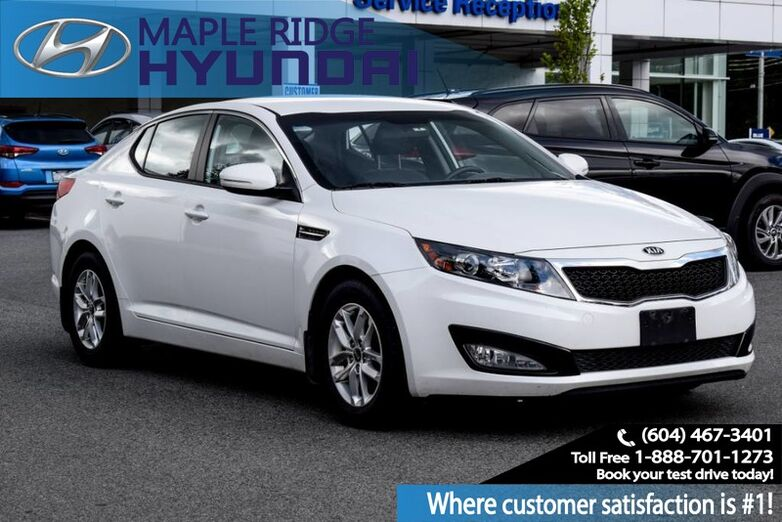 2013 Kia Optima 4dr Sdn Man LX Maple Ridge BC