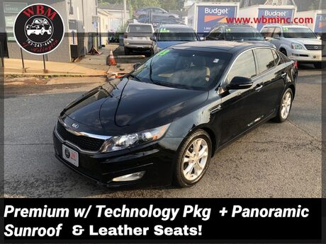 2013 Kia Optima EX w/ Premium & Technology Pkg Arlington VA