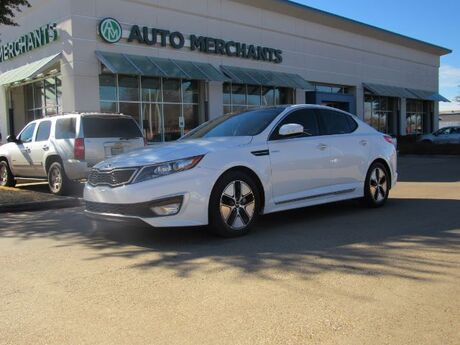2013 Kia Optima Hybrid EX 2.4L 4 CYLINDER, AUTOMATIC, HYBRID, LEATHER SEATS, NAVIGATION SYSTEM, PANORAMIC ROOF, SATELLITE R Plano TX
