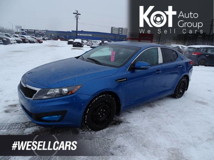 2013 Kia Optima LX, Low Km's, Manual Transmission, Heated Seats Kelowna BC