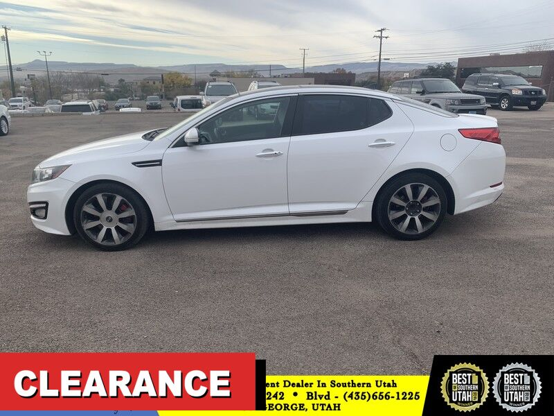 2013 Kia Optima SX w/Limited Pkg St George UT
