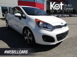 2013 Kia RIO SX! FULL LOAD! LEATHER! SUNROOF! BACKUP CAM! BLUETOOTH! ONLY 54,000 KMS!