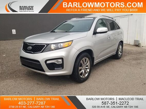 2013_Kia_Sorento_SX V6 7 PASSENGER ONE OWNER NO ACCIDENTS_ Calgary AB