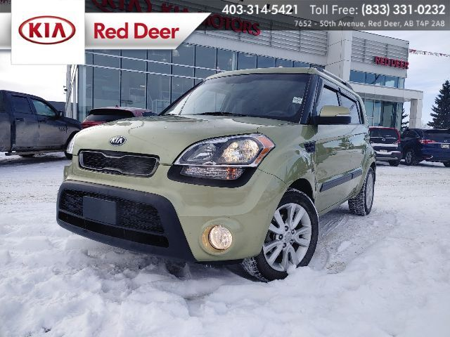 2013 Kia Soul 2u, Active Eco, Sirius, Blutooth Red Deer AB