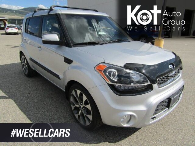 2013 Kia Soul 4U! FULL LOAD! 2 SETS OF TIRES!! ROOF RACK! LEATHER! NAV! Kelowna BC