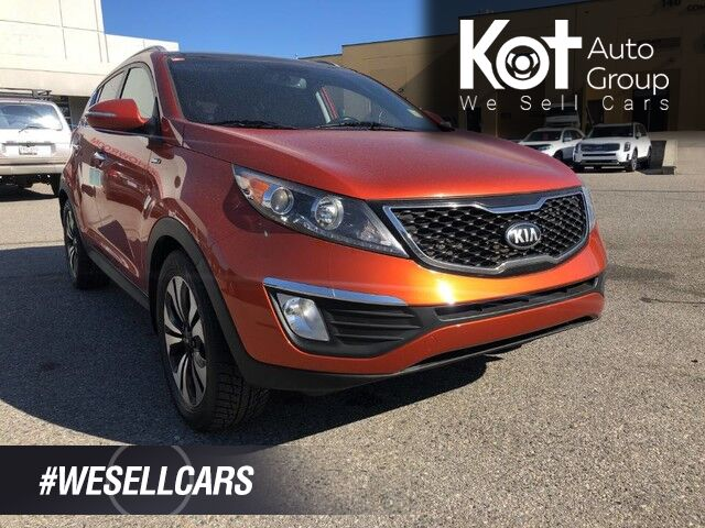 2013 Kia Sportage SX, Sunroof, Navigation, Back-Up Camera Kelowna BC