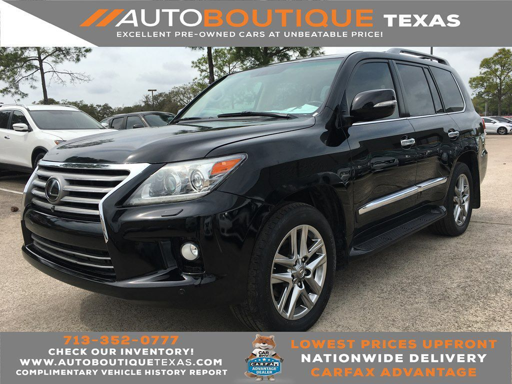 2013 LEXUS LX 570 570 Houston TX